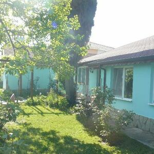 Two one-storey houses in a yard 4 km from the sea