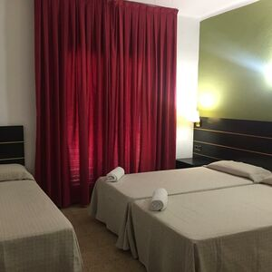 Hotel one star, in the center of Lloret de Mar.