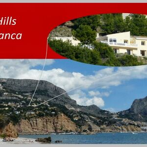 ALTEA HILLS: villa with guest apartment and stunning views.
