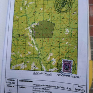 For sale a great plot for wood/timber exploration in Uige