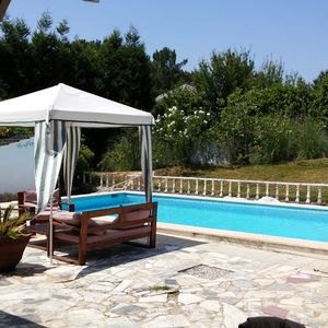 T4 villa with pool in quiet mountain and forest area