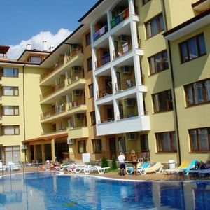 Pool view 1-Bedroom apartment in Sunny Dreams, Sunny Beach