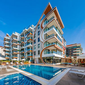 Apartment in new cozy residence in Alanya, Kestel