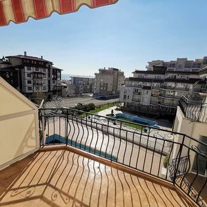 Furnished two-bedroom apartment with sea view in Saint Vlas!