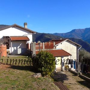 5000sqm land with stunning view and 120sqm house in Pigna