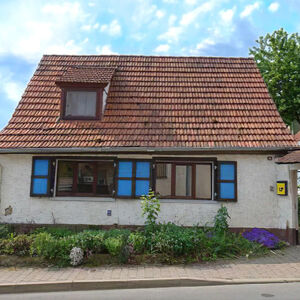 Super family home in Swiss style village Thuringia Germany