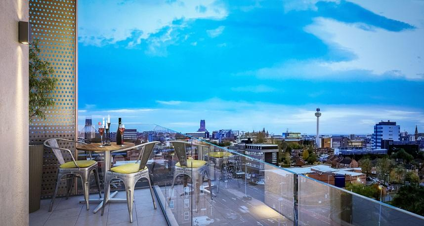 2 Bed Azure Residence Apartments for sale in Liverpool ...