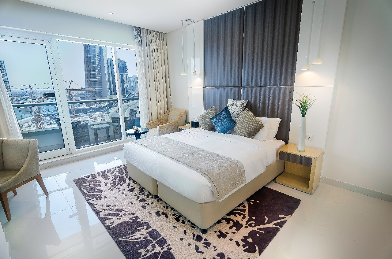 Fully Furnished Luxury One Bedroom Apartment in Dubai ...